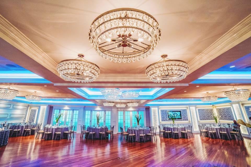Sophisticated ballroom
