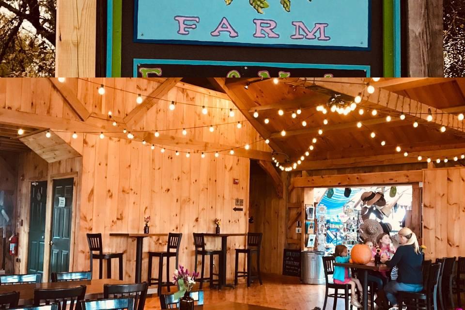 SweetBerry Farm Bistro Lightig