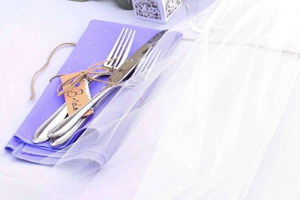 Lavender cloths