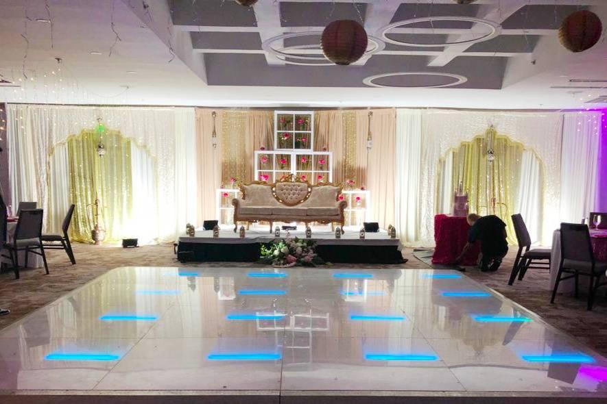 LED floor lights