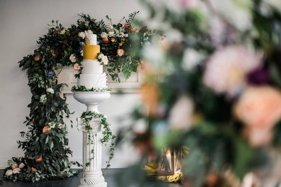 The Topiary Cake Design