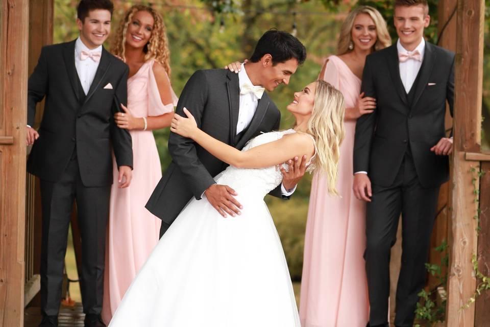 Steel Grey Wedding Suit KC