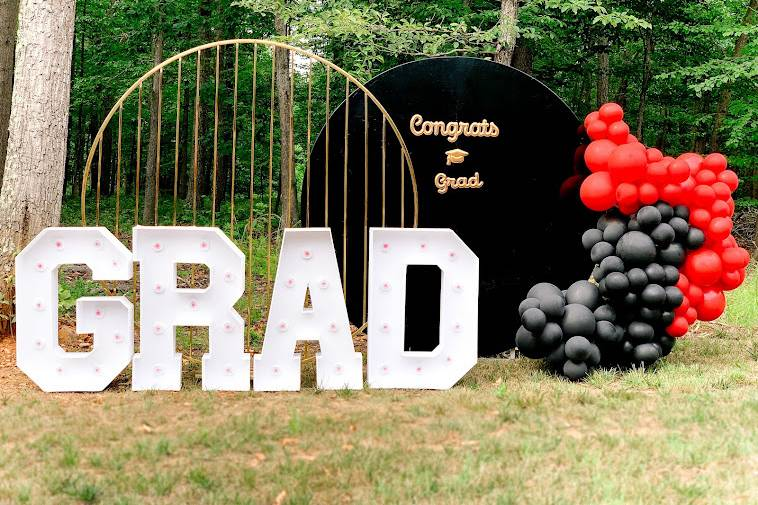 Graduation Party Balloondecor