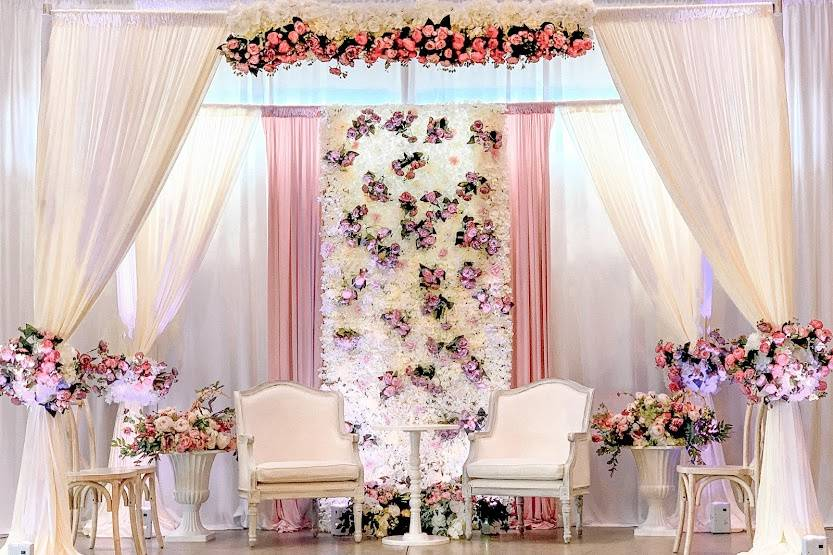 Stage Decor Backdrop Draping