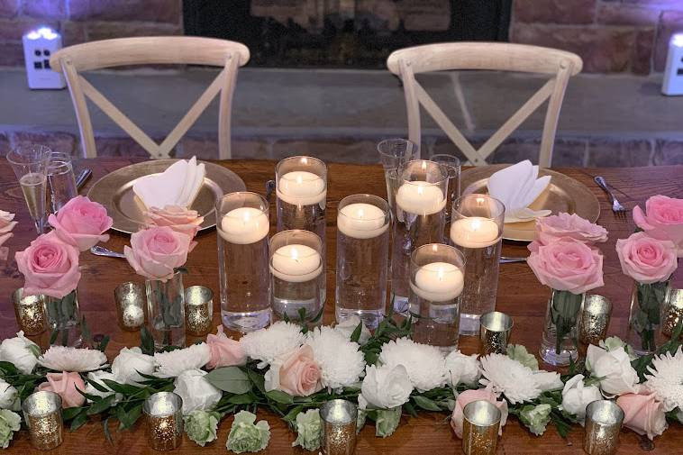 Centerpieces Floras Candle
