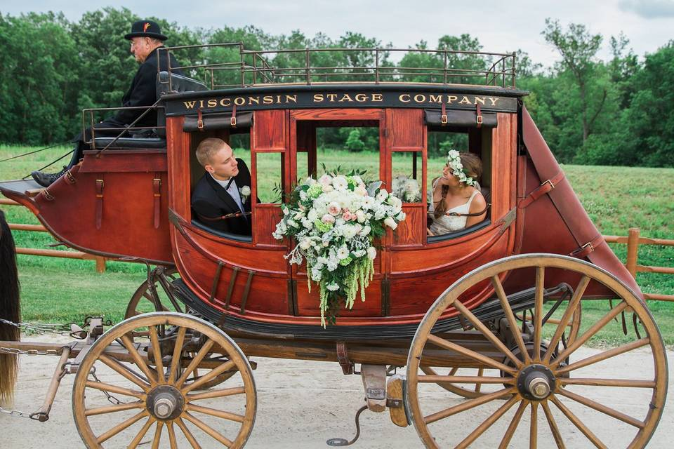 Marriage carriage