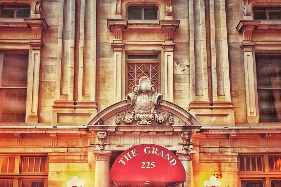 Entrance to The Grand