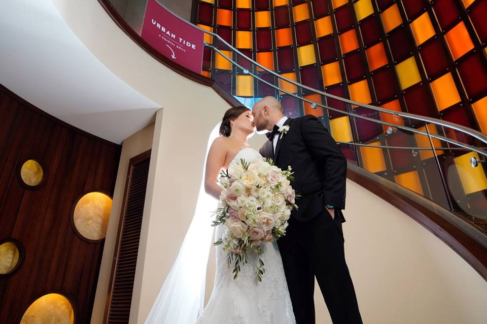Hyatt Regency Orlando Staircas