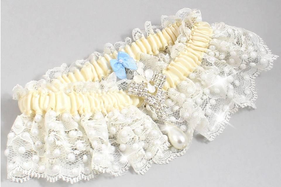 Custom Wedding Garter