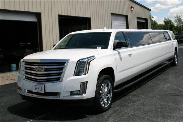 White limousines