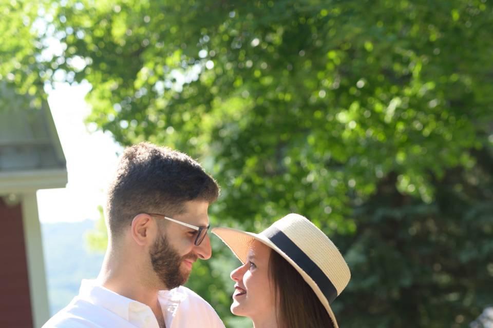 Engagement at Keuka
