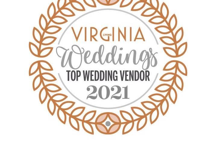 We are a Top Wedding Vendor