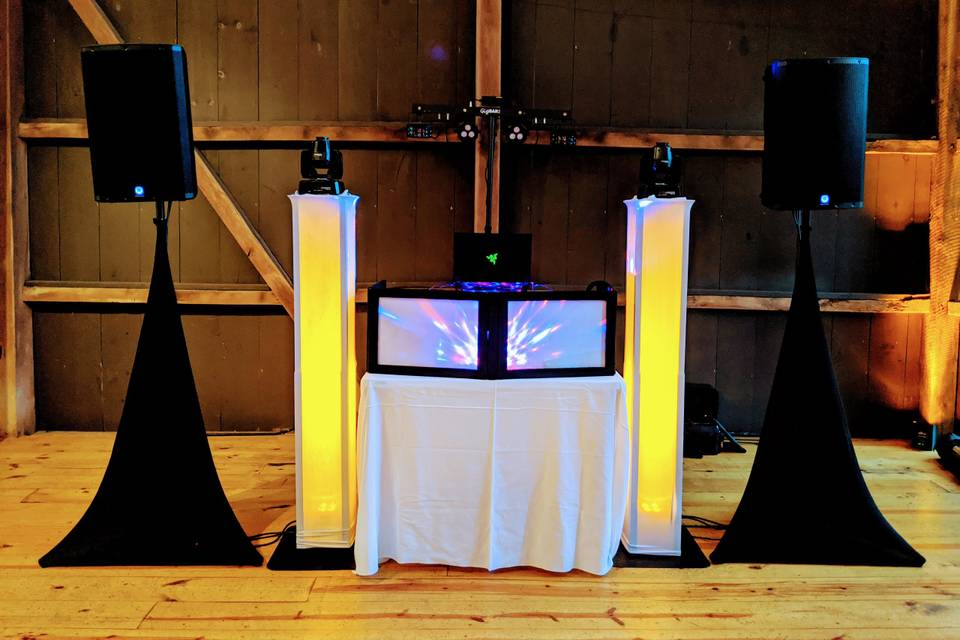 DJ Set up & Lights