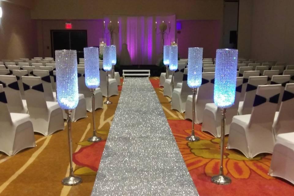 Ballroom Wedding Ceremony