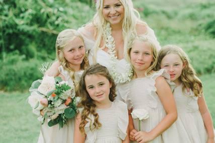 Precious flower girls!