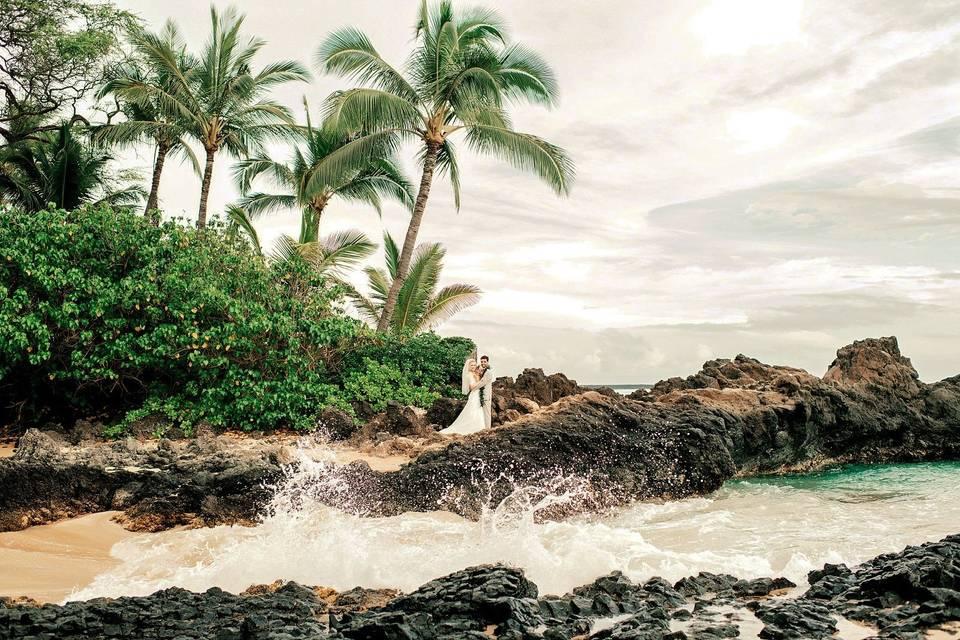 South Maui beach!