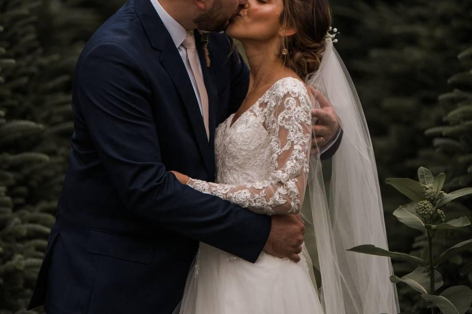 Wedding photo at Heavitree