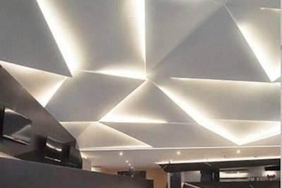 Skyline ballroom ceiling