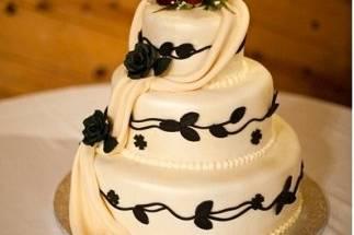 Wedding Cake delivered to Calamigos Ranch in Malibu