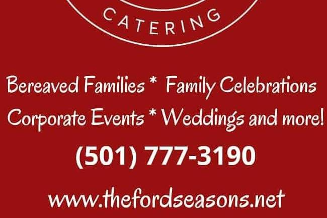 The Ford Seasons Catering