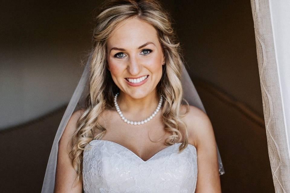 Full wedding makeup