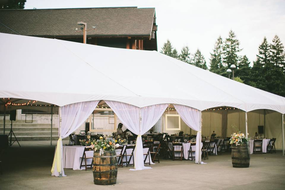 Central Plaza Tent