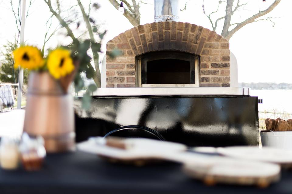 The Rolling Dough-Mobile Wood Fired Oven