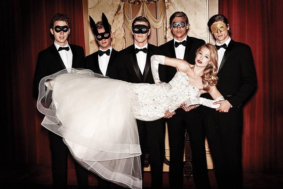 A masquerade theme