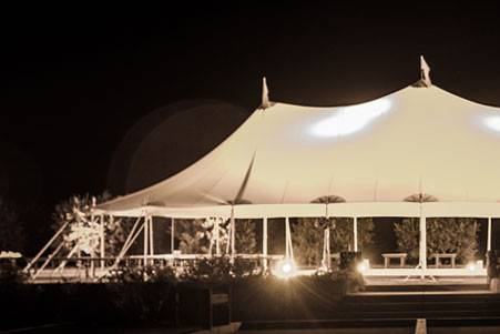 Tidewater sailcloth canopy