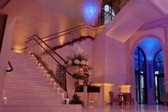 Foyer for ceremony
