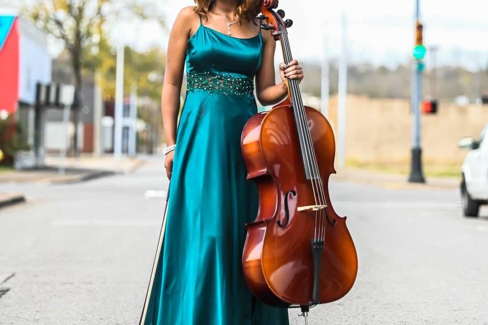 Ja'Nise Gentry- Cellist