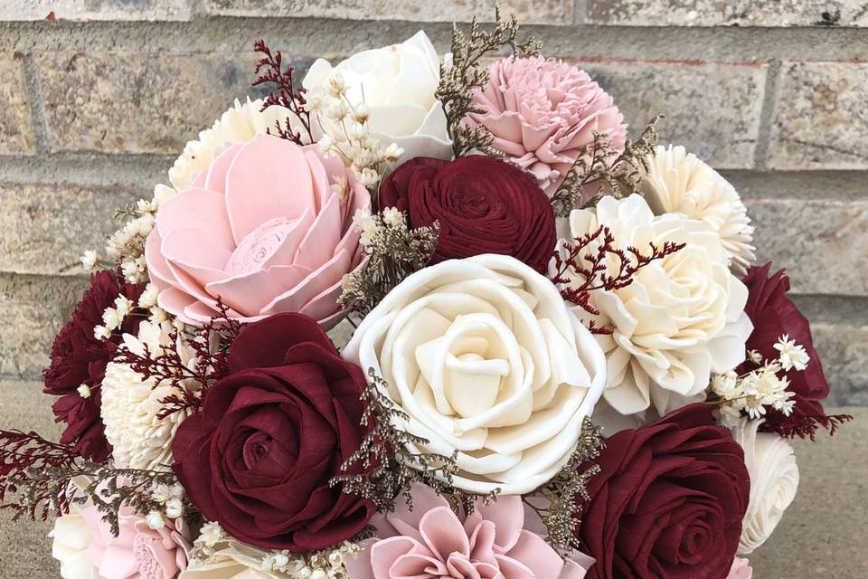 Hand Picked Bridal Bouquet
