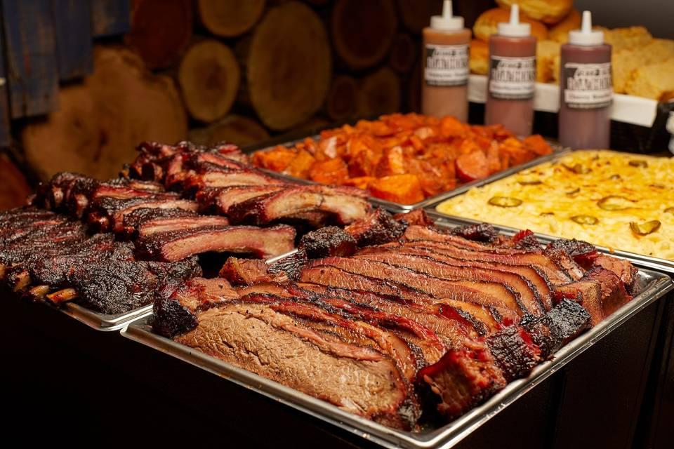Texas-style beef brisket