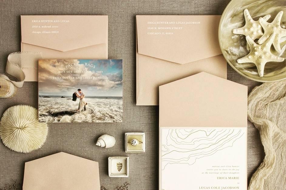 Simply Michelle Invitations + Paper