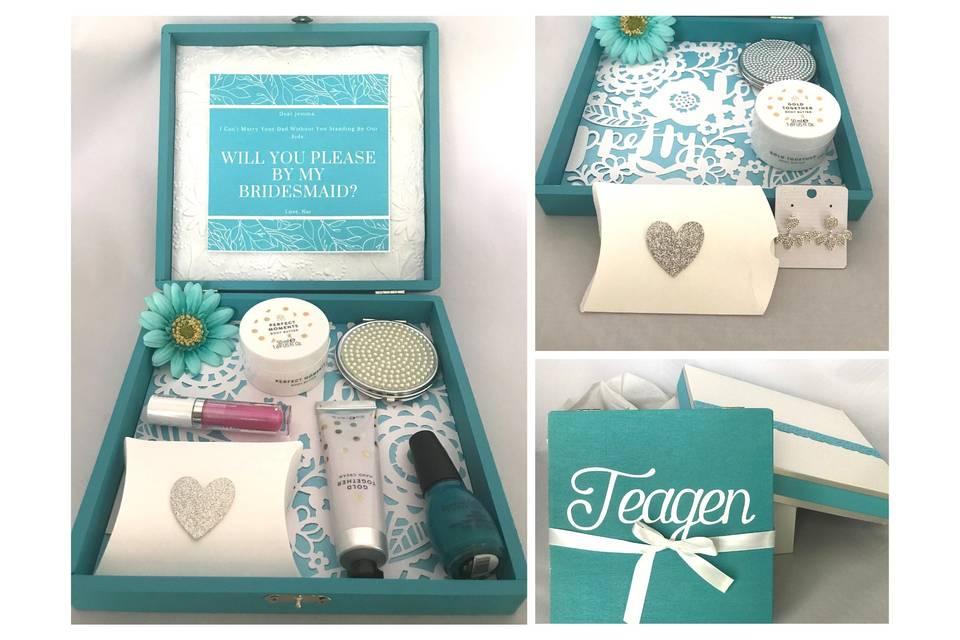 Bridesmaid Proposal Gift Box