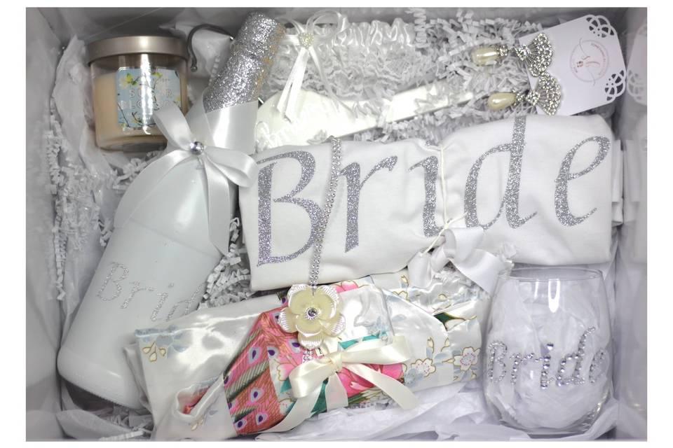 Personalized Bridal Gift Box