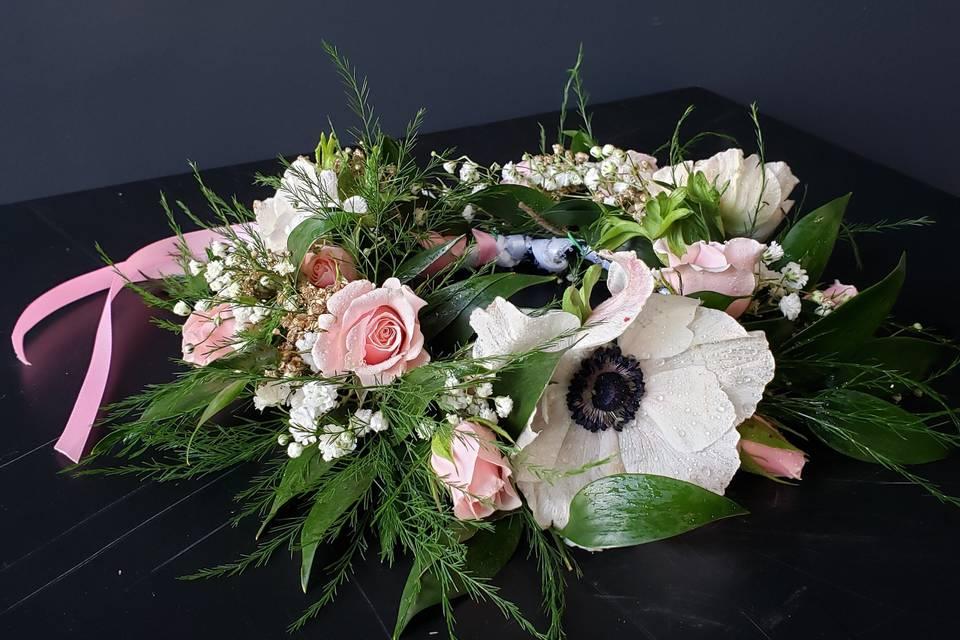 Flower girl arrangement