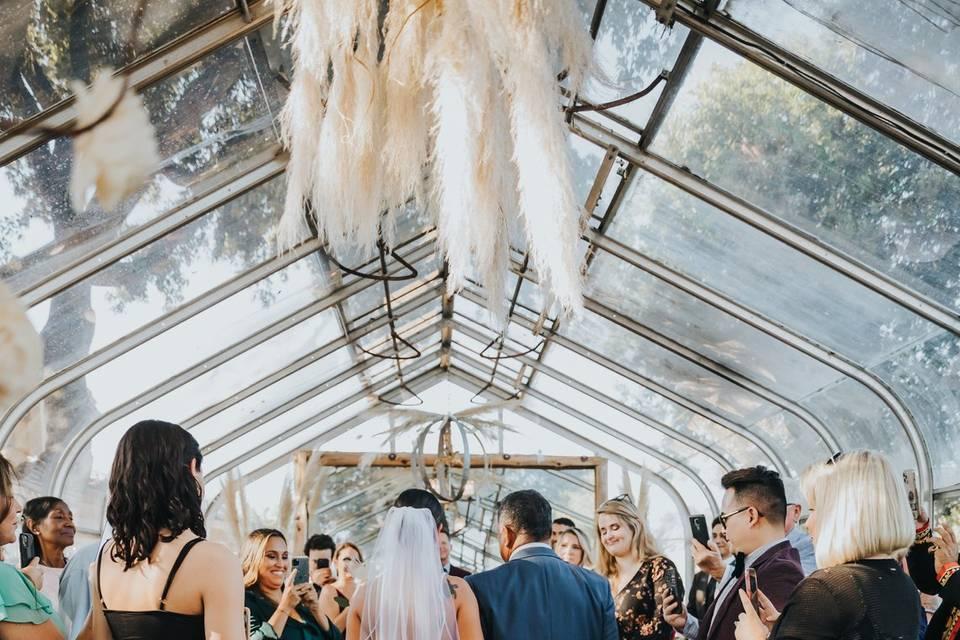 Greenhouse ceremony