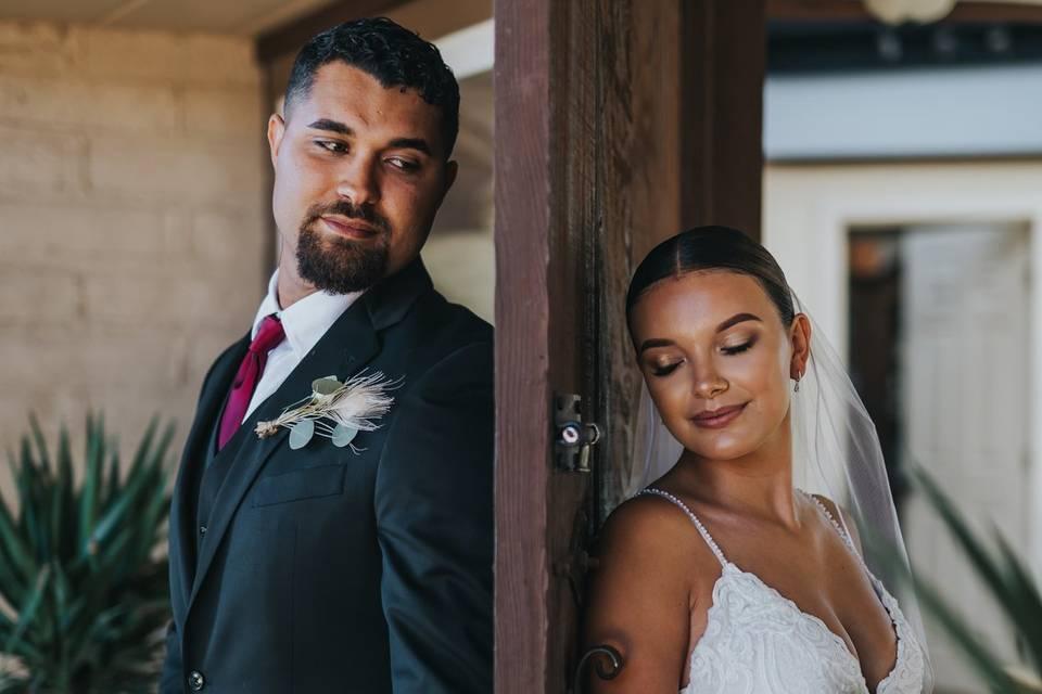 Intimate wedding in Santa Cruz