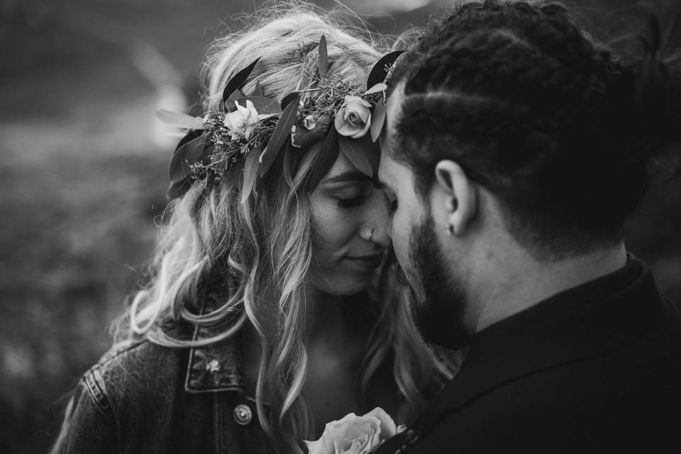 Sharing a quiet moment - Connor David Photography