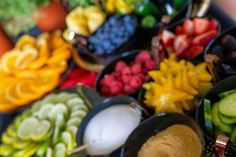 Fresh Fruit Bar