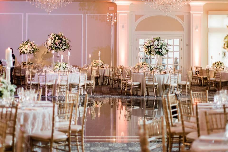 Breathtaking chandeliers