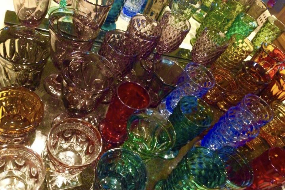 Classic goblets in a variety of colors