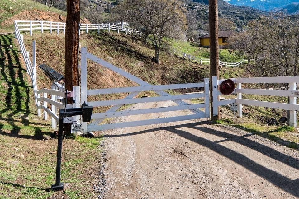 Entrance to Redwood