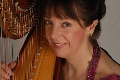 Sandra Salstrom, Harpist