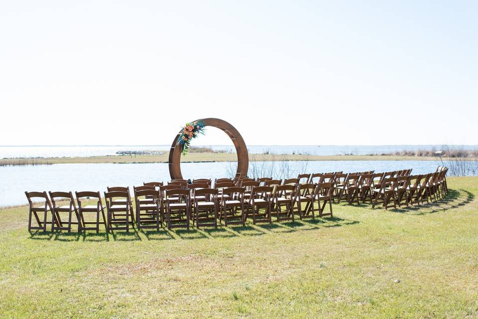 South Lawn Ceremony