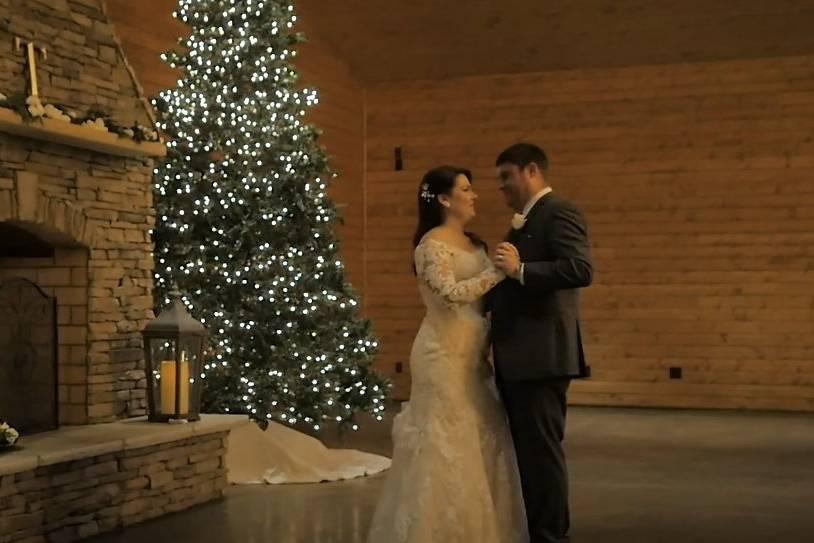 Christmas Wedding - Chris & Ca