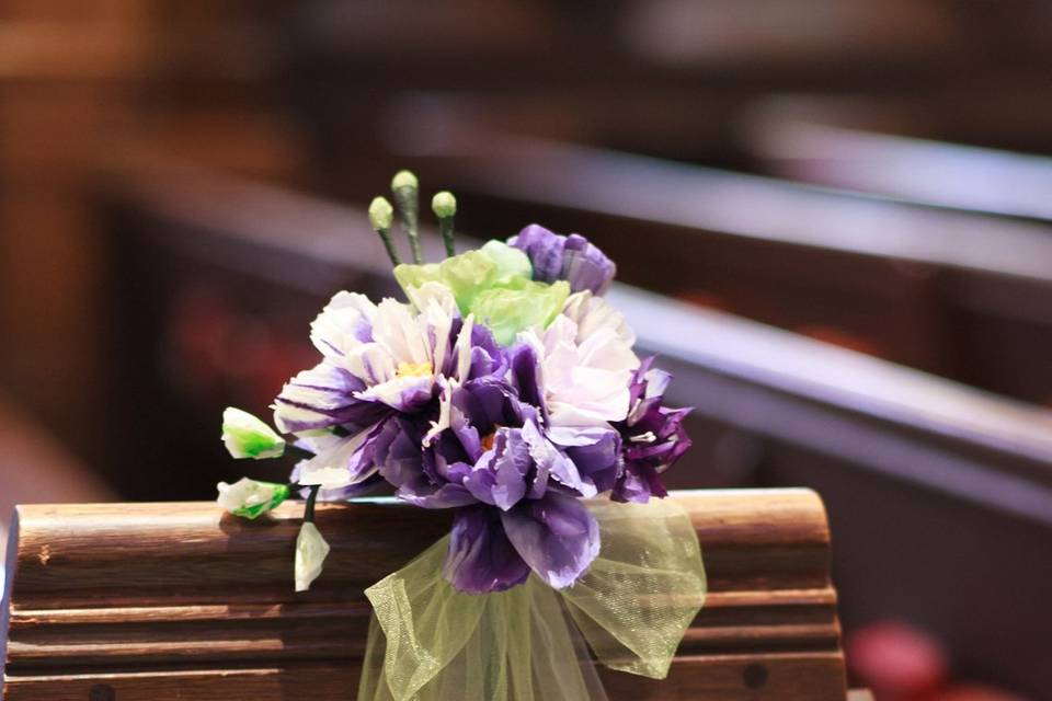 Paper flowers can easily take the place of the real thing!