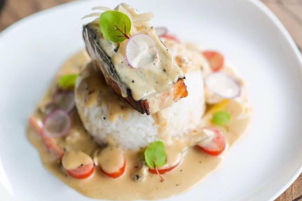 Salmon butteryaki