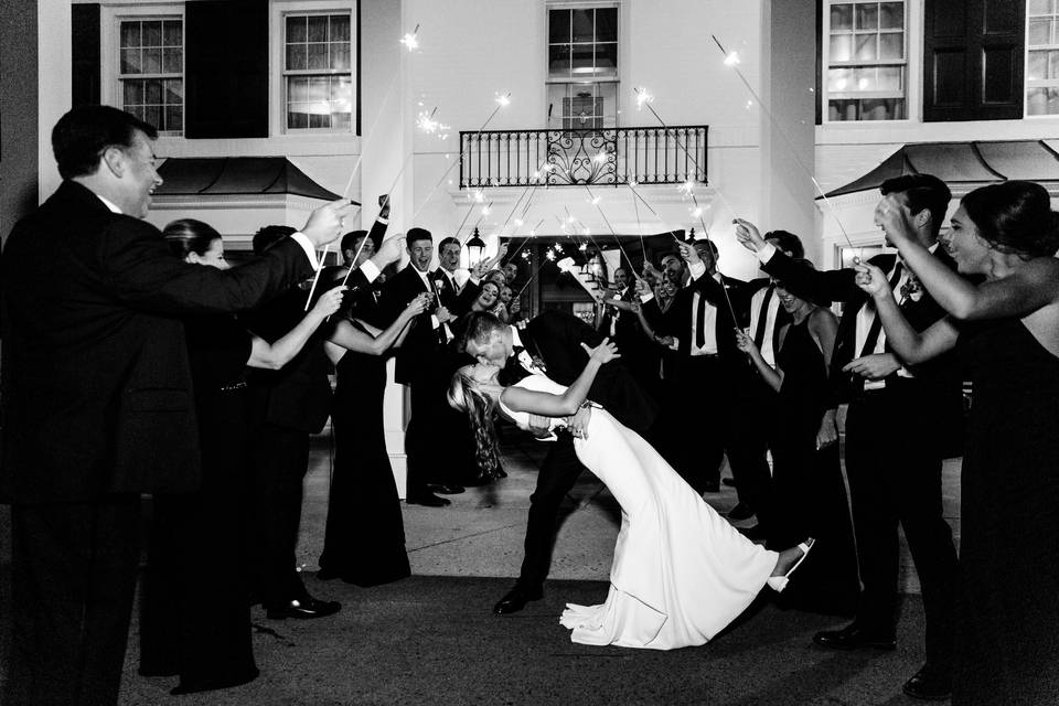 Joy for the happy couple - Danielle Harris Photography